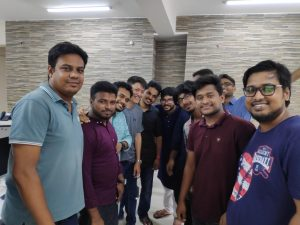 Joules Labs Team with Happy Client 02