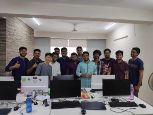 Joules Labs Team with Happy Client